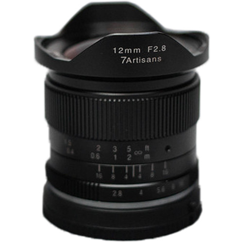 (Per-Order) 7artisans 12mm F2.8 For Micro Four Thirds (Black)