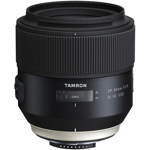 Tamron SP 85mm f/1.8 Di VC USD Lens (Nikon)