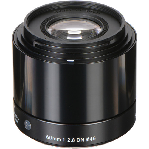 Sigma 60mm f/2.8 DN Art Lens for Micro Four Thirds (Black)