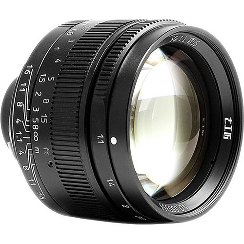 7artisans M 50mm F1.1 For Leica M (Black)