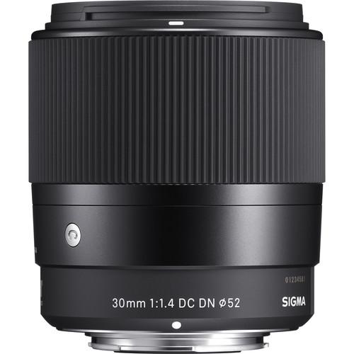 Sigma 30mm F1.4 DC DN Contemporary Lens (MFT)