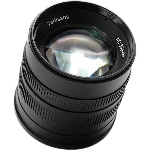 7artisans 55mm F1.4 For Fujifilm X (Black)