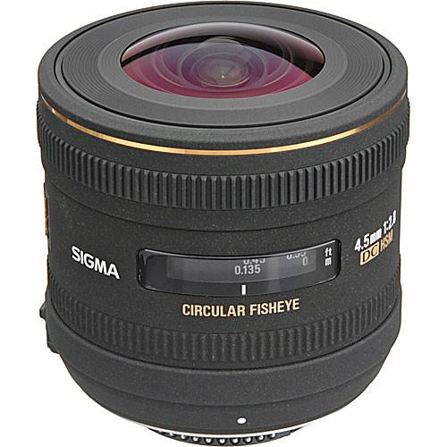 Sigma 4.5mm F2.8 EX DC HSM Circular Fisheye Lens (Canon)