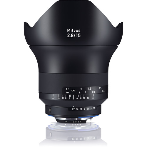 (Promotion) ZEISS Milvus 15mm F2.8 ZF.2 Lens for Nikon F
