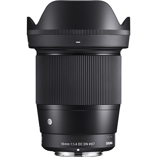 (Special Offer) Sigma 16mm F1.4 DC DN Contemporary Lens (Sony)