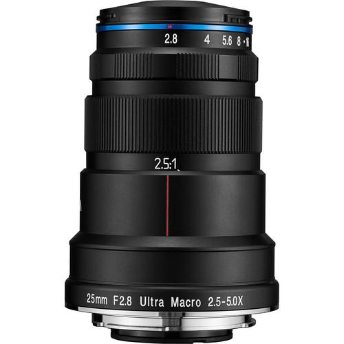 Laowa 25mm f/2.8 2.5-5X Ultra Macro Lens (Nikon F)