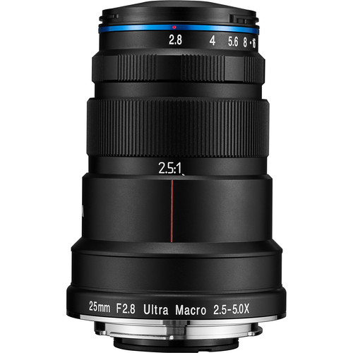 Laowa 25mm f/2.8 2.5-5X Ultra Macro Lens (Sony E)