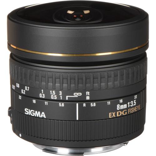 Sigma 8mm F3.5 EX DG Circular Fisheye Lens (Canon)