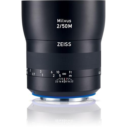 ZEISS Milvus 50mm F2M ZE Macro Lens for Canon EF