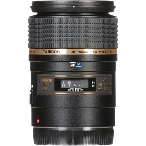 Tamron SP 90mm f/2.8 Di Macro Autofocus Lens (Canon)