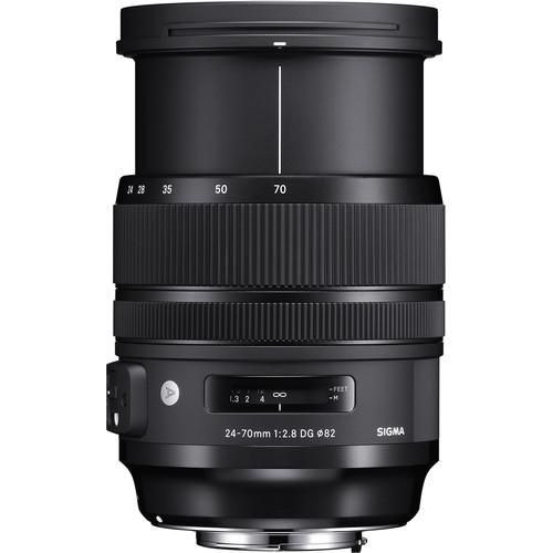 Sigma 24-70mm F2.8 DG OS HSM Art Lens (Canon)