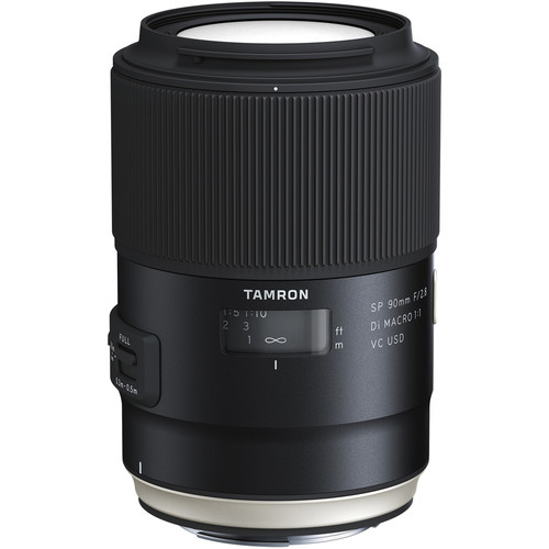 Tamron SP 90mm f/2.8 Di Macro VC USD Lens (Canon)