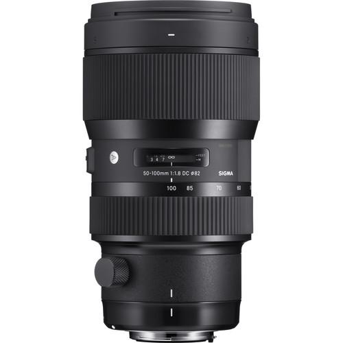 Sigma 50-100mm F1.8 DC HSM Art Lens (Canon)