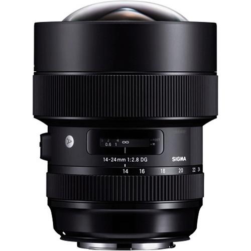 Sigma 14-24mm F2.8 DG HSM Art Lens (Canon)