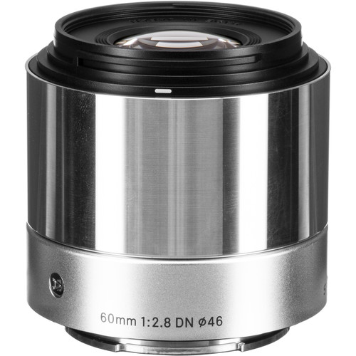 Sigma 60mm f/2.8 DN Art Lens for Sony E (Silver)