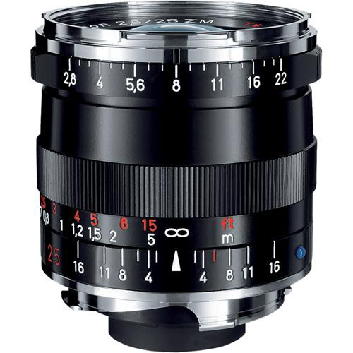 ZEISS Biogon T* 21mm F2.8 ZM Lens (Black)