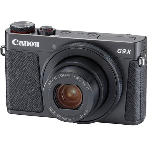 Canon POWERSHOT G9X Mark II (Black) [Free 16GB SD Card]