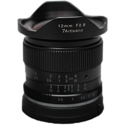 7artisans 12mm F2.8 For Fujifilm X (Black)