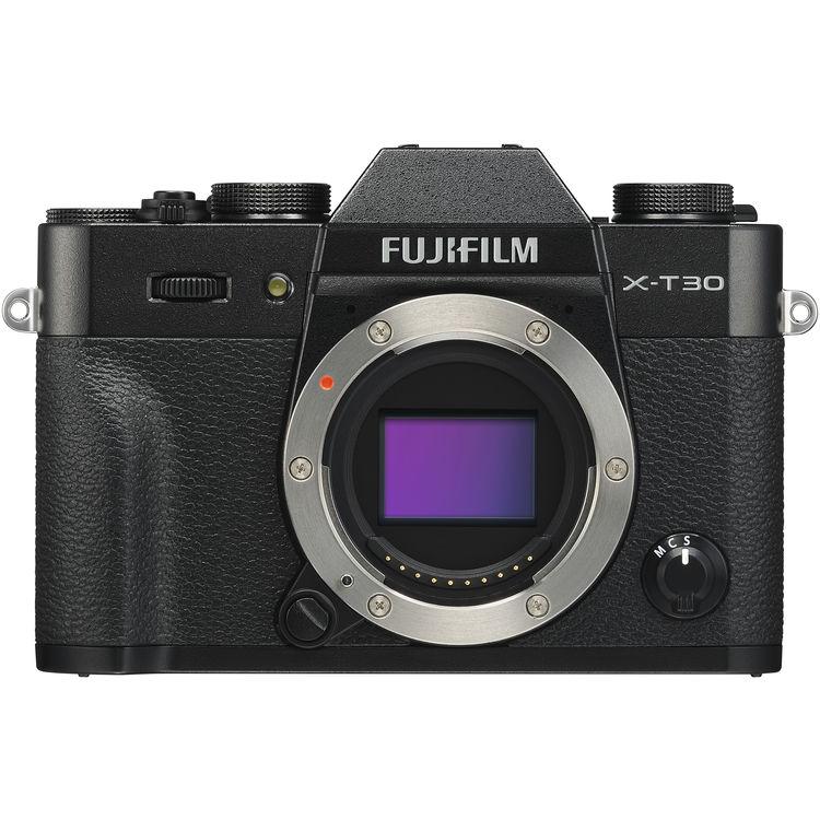Fujifilm X-T30 (Black) [Free 32GB SD Card]