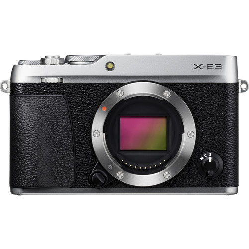 (CNY Deal) Fujifilm X-E3 (Silver) [Free 32GB SD Card]
