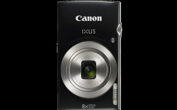 Canon Digital IXUS 185 (Black) [Free 16GB SD Card + Camera Case]