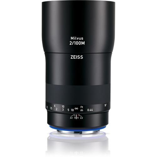 ZEISS Milvus 100mm F2M ZE Macro Lens for Canon EF