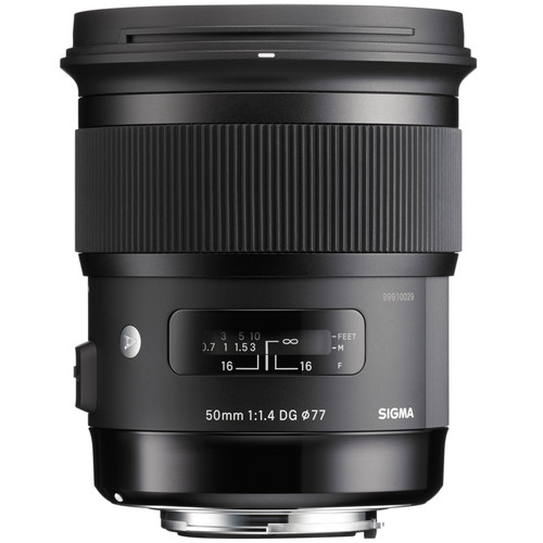 Sigma 50mm F1.4 DG HSM Art Lens (Canon)
