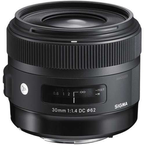 Sigma 30mm F1.4 DC HSM Art Lens (Canon)