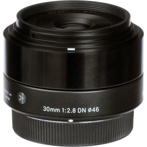 Sigma 30mm F2.8 DN Art Lens for Micro Four Thirds (Black)