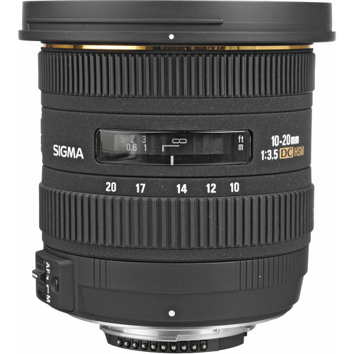 Sigma 10-20mm F3.5 EX DC HSM Lens (Canon)