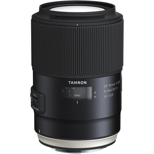 Tamron SP 90mm f/2.8 Di Macro VC USD Lens (Nikon)