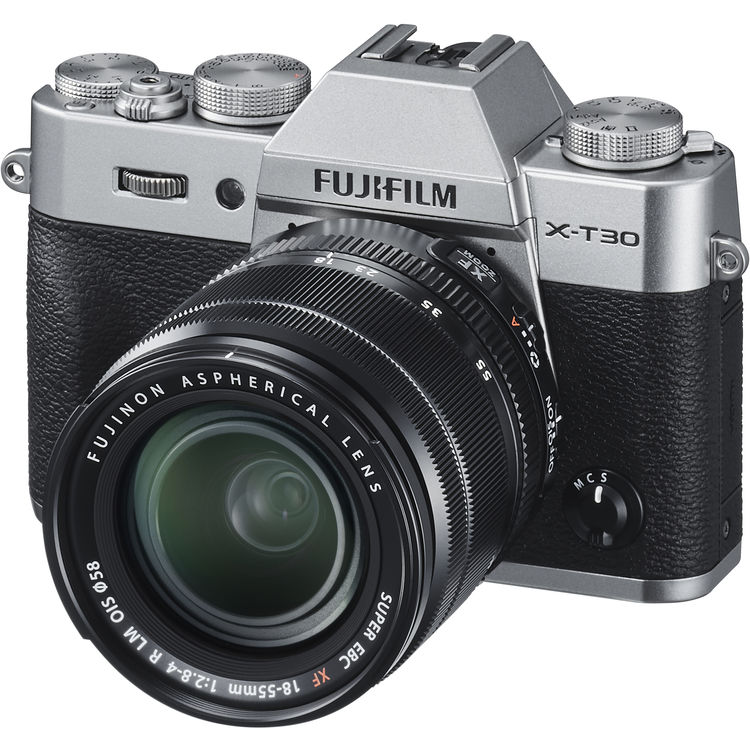 (CNY Deal) Fujifilm X-T30 (Silver) + XF 18-55mm f/2.8-4R LM OIS [Free 32GB SD Card]