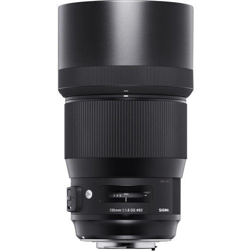 (Special Offer) Sigma 135mm F1.8 DG HSM Art Lens (Canon EF)
