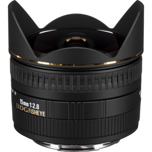 Sigma 15mm F2.8 EX DG Diagonal Fisheye Lens (Canon)