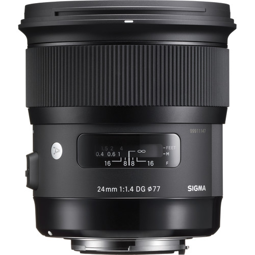 Sigma 24mm f/1.4 DG HSM Art Lens (Canon EF)