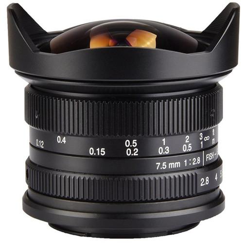 7artisans 7.5mm F2.8 Fisheye For Canon EOS-M (Black)