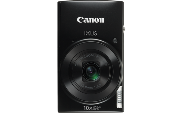 Canon Digital IXUS 190 (Black) [Free 16GB SD Card + Camera Case]