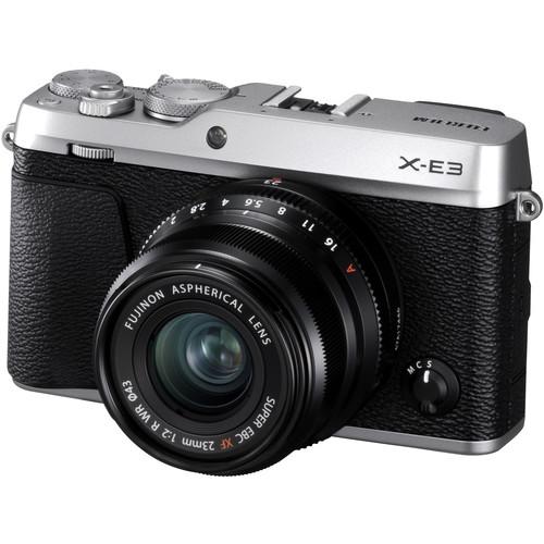 (DOUBLE 12) Fujifilm X-E3 + XF 23mm f/2 R WR (Silver) [Free 32GB SD Card]