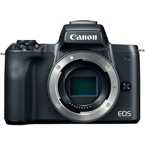 Canon EOS-M50 Mirrorless Digital Camera - Body Only (Black) [Free 32GB SD Card + Camera Bag]