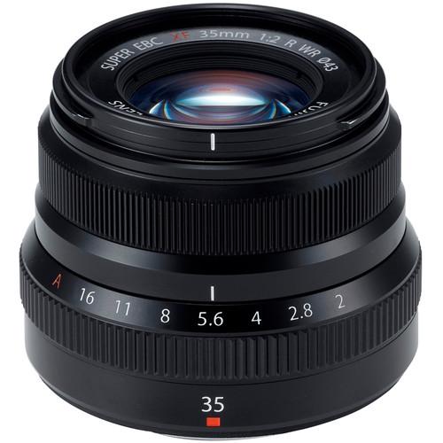 Fujifilm XF 35mm F2 R WR (Black)