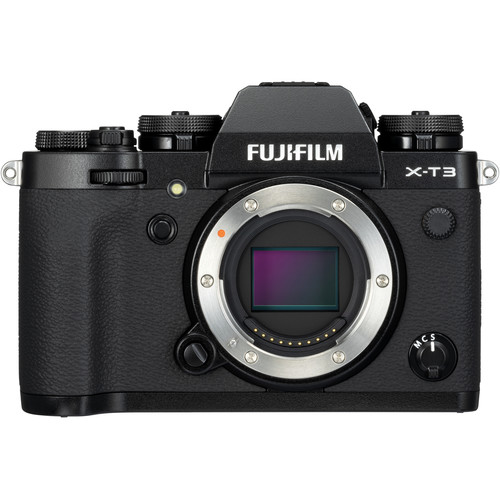 Fujifilm X-T3 (Black) [Free 32GB SD Card UHS-II]