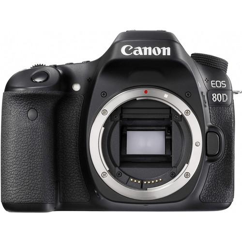 Canon EOS 80D (Body) [Free 16GB SD Card + Camera Bag]