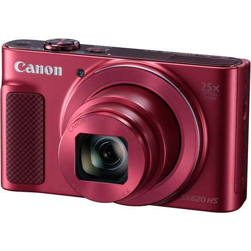 Canon POWERSHOT SX620HS (Red) [Free 16GB SD Card + Camera Case]