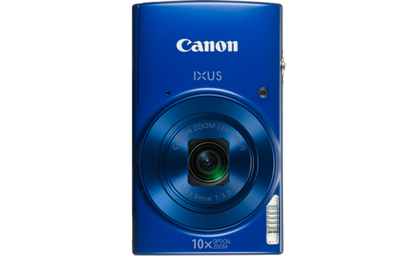 Canon Digital IXUS 190 (Blue) [Free 16GB SD Card + Camera Case]