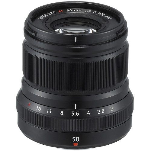 Fujifilm XF 50mm F2 R WR (Black)
