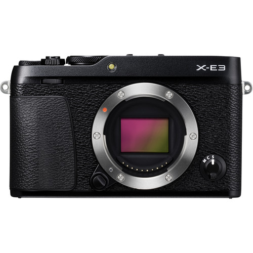 (CNY Deal) Fujifilm X-E3 (Black) [Free 32GB SD Card]
