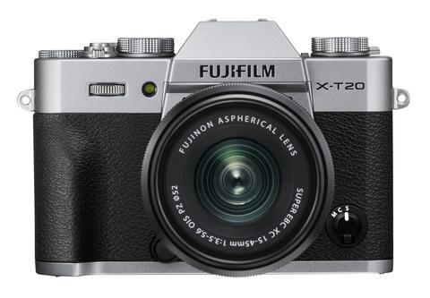 Fujifilm X-T20 (Silver) + XC 15-45mm f/3.5-5.6 OIS PZ [Free 32GB SD Card & NP-W126S Battery)