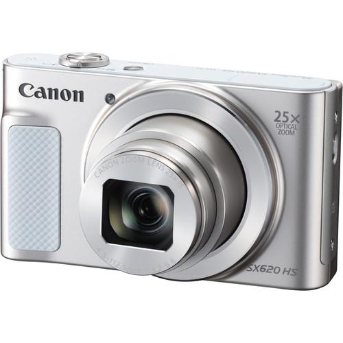 Canon POWERSHOT SX620HS (White) [Free 16GB SD Card + Camera Case]