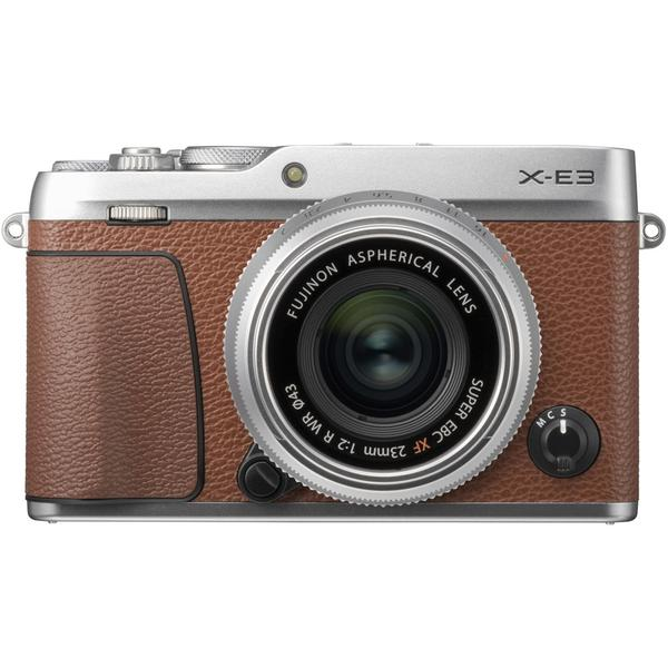 (DOUBLE 12) Fujifilm X-E3 + XF 23mm f/2 R WR (Brown) [Free 32GB SD Card]