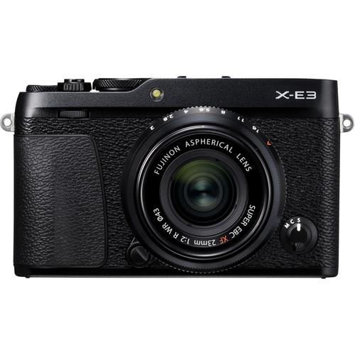 (CNY Deal) Fujifilm X-E3 + XF 23mm f/2 R WR (Black) [Free 32GB SD Card]